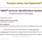 MERS ServicerID Loans Weidner