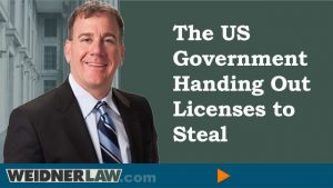 Government License to Steal