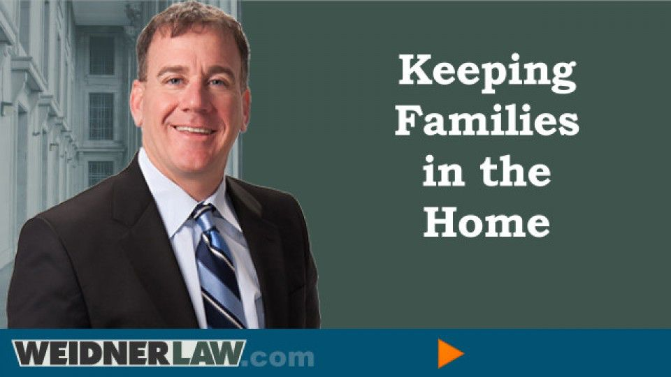 keeping families in the home