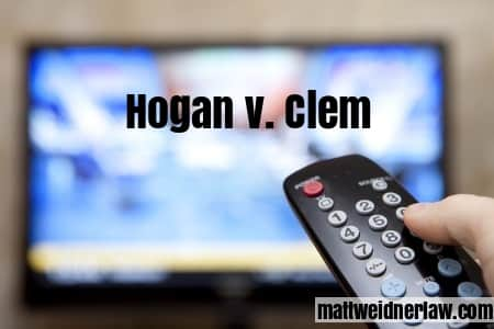 Defamation hogan v clem