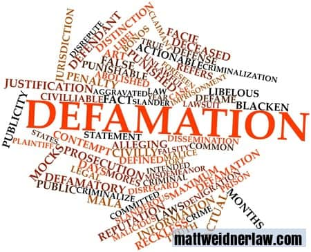 Defamatory Reviews causing Damage to Your Reputation? Let Us Sue For You!