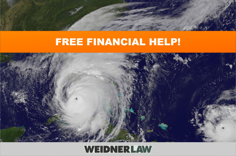 Help For Those In Need!- FREE Hurricane Financial Assistance!
