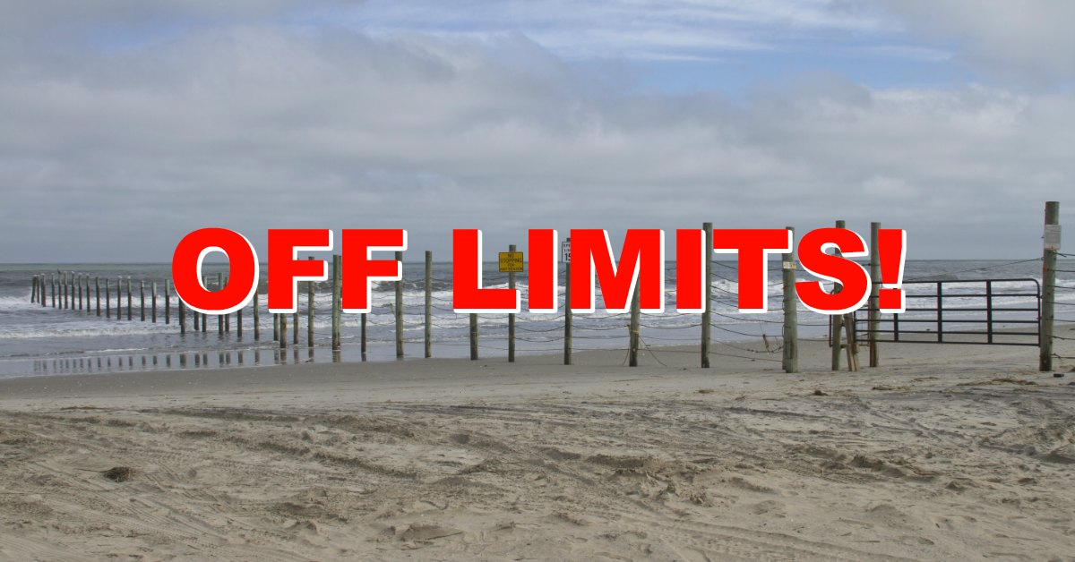 Line in The Sand: Beaches in Palm Beach County Now Off Limits