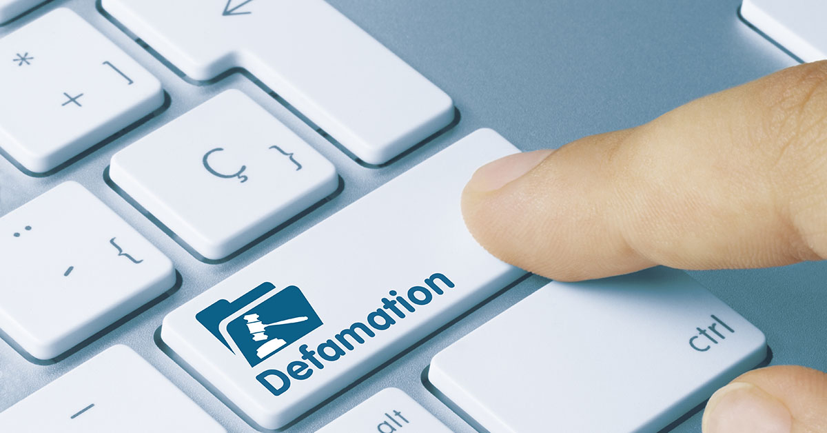 Online Defamation: What Does it Mean?