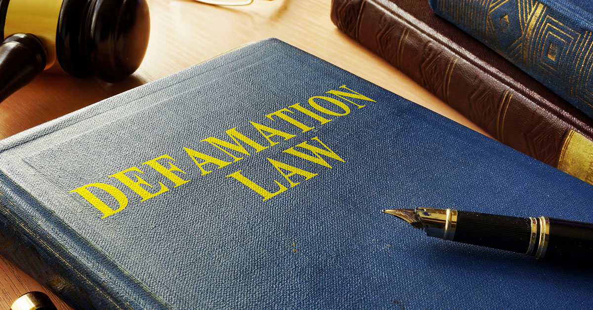 Defamation Law: What Does the Law Say About Personal Defamation?