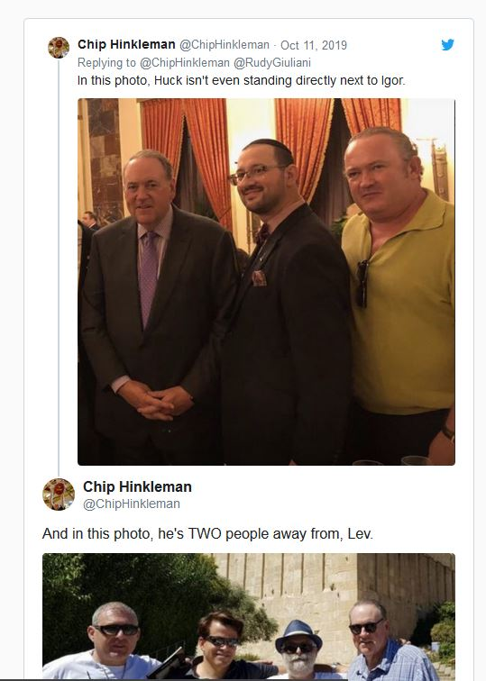 A Bar Complaint Becomes a Political Weapon. Trump Ally Huckabee Seeks To Snuff Out Florida Lawyer Related to Ukraine Connections